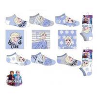 PONOŽKY Ľadové Kráľovstvo 3ks , Velikost ponožky - 23-26 , Barva - Barevná