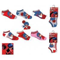 PONOŽKY KOUZELNÁ BERUŠKA 3ks , Velikost ponožky - 23-26 , Barva - Barevná