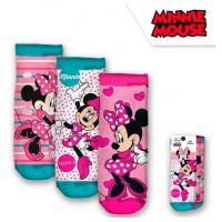 PONOŽKY MINNIE 3ks , Velikost ponožky - 19-22 , Barva - Ružová