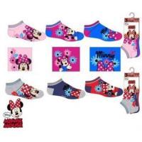 Ponožky Minnie 3ks , Velikost ponožky - 23-26 , Barva - Barevná
