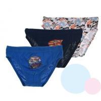 SLIPY PLANES 3ks , Velikost - 92/98 , Barva - Modrá