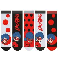 PONOŽKY KOUZELNÁ BERUŠKA 5ks , Velikost ponožky - 27-30 , Barva - Barevná