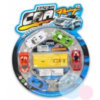 AUTO RACE CARS  6ks , Barva - Barevná