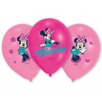 Balónik MINNIE 6ks , Barva - Ružová