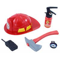 Hasičská, helma a příslušenství , Barva - Červená
