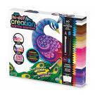 Kreatívnych sada Hi-Def voskových pasteliek s omaľovánkami , Barva - Barevná