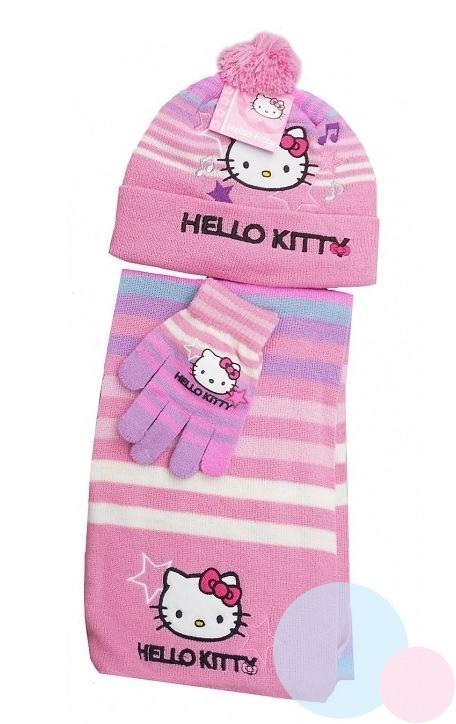00e7e329c detská súprava hello kitty , Barva - Ružová , Velikost čepice - 52 ...