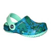 Sandále fajlon Pidilidi , Velikost boty - 24 , Barva - Modrá