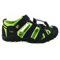 Sandále sportovní Bugga , Velikost boty - 38 , Barva - Černo-zelená