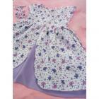 Šaty Bětuška , Barva - Bielo-fialová , Velikost - 80