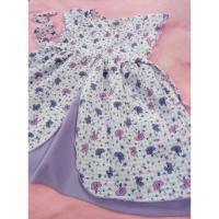 Šaty Bětuška , Velikost - 134 , Barva - Bielo-fialová