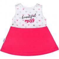 Šaty bez rukávů New Baby , Barva - Ružová , Velikost - 62