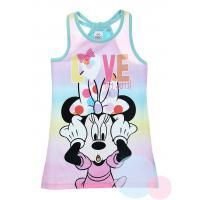 Šaty Disney Minnie , Barva - Tyrkysová , Velikost - 128