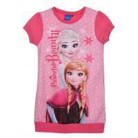Šaty Frozen Disney , Barva - Malinová , Velikost - 116