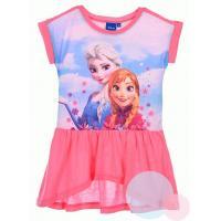 Šaty Frozen Anna a Elsa , Barva - Ružová , Velikost - 104