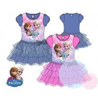 Šaty Frozen , Barva - Ružová , Velikost - 128