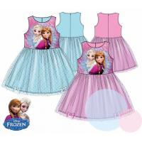 Šaty Frozen , Barva - Tyrkysová , Velikost - 110
