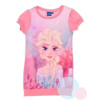 ŠATY FROZEN Elsa , Velikost - 104 , Barva - Ružová