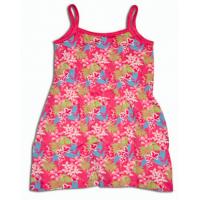 Šaty kvetinky , Velikost - 74 , Barva - Ružová