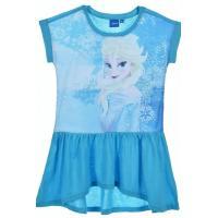 Šaty Frozen Elsa , Velikost - 110 , Barva - Tyrkysová