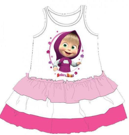 34ce917bbaf9 dětské šaty máša a medvěd