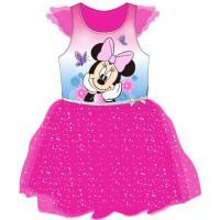 Šaty Minnie Mouse , Velikost - 110 , Barva - Malinová