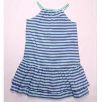 Šaty na ramienka , Barva - Zeleno-fialová , Velikost - 122/128