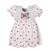 Šaty New Baby LadyBird , Barva - Šedá , Velikost - 74