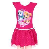 Šaty PAW PATROL , Velikost - 98 , Barva - Tmavo ružová