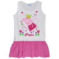 Šaty Peppa Pig , Barva - Bílo-růžová , Velikost - 116