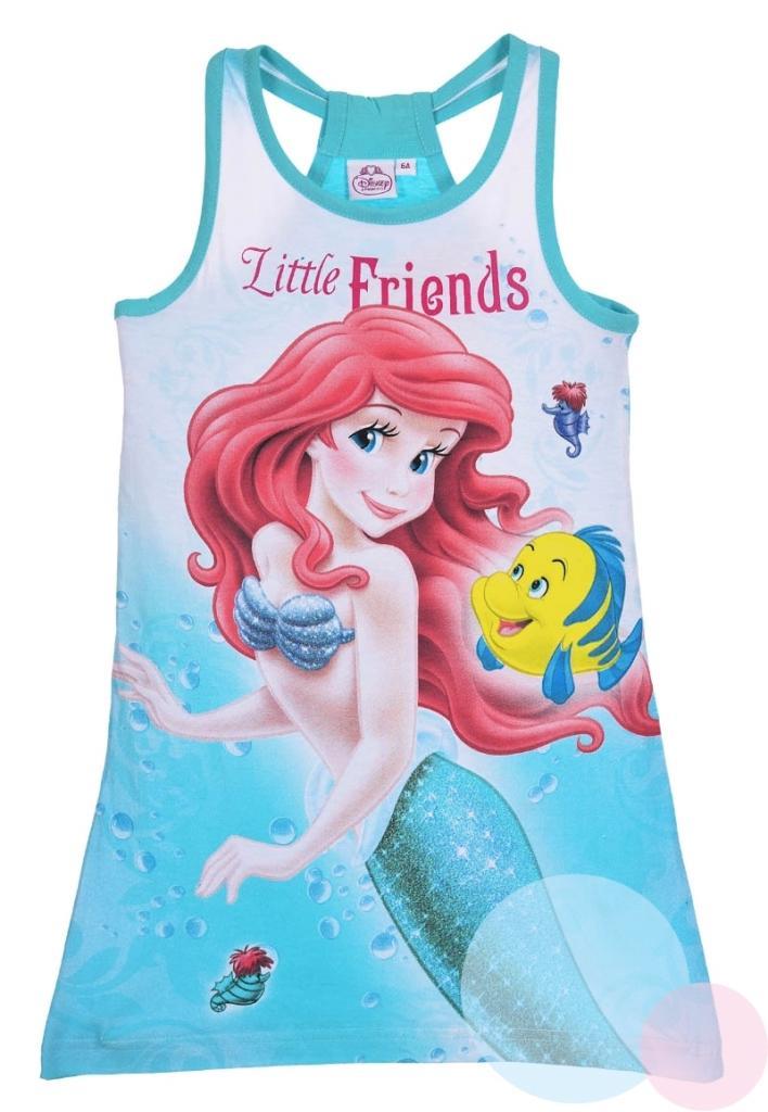 2b07fc3eca23 Detské šaty Morská víla Ariel