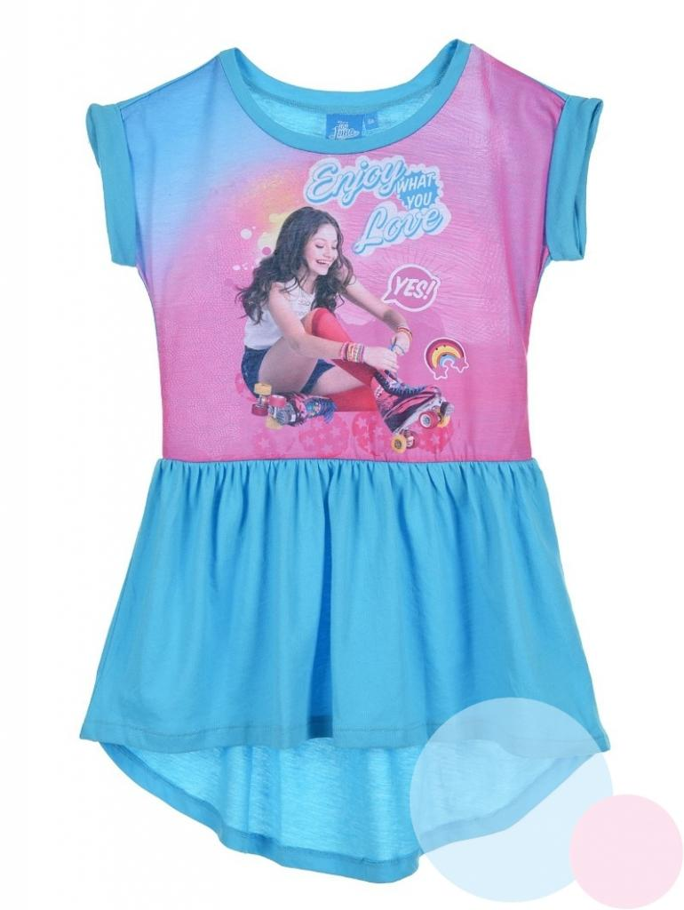 30207ead0 detské šaty soy luna , Barva - Tyrkysová , Velikost - 116, Sun City ...
