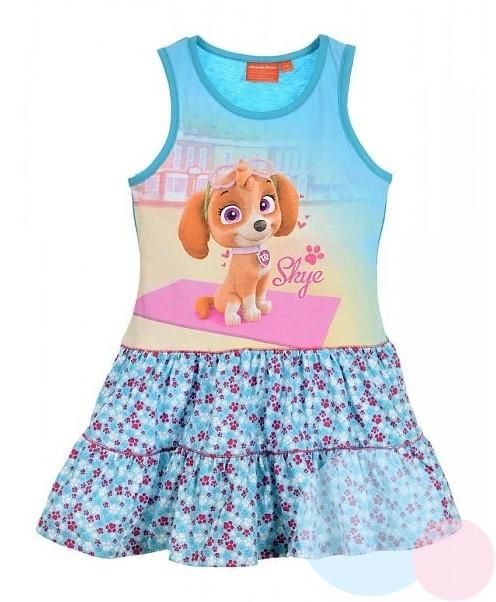 04c8993f7 detské šaty paw patrol , Barva - Tyrkysová, Sun City | Nákupy Deťom SK