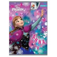 Sešit Frozen A5 , Barva - Fialová