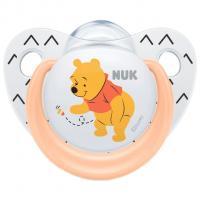 Šidítko NUK Medvídek Pú , Barva - Oranžová