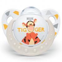 Šidítko NUK Trendline Disney Tigger 6-18m , Barva - Béžová