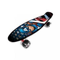 Skateboard fishboard Avengers Kapitán Amerika , Barva - Modrá