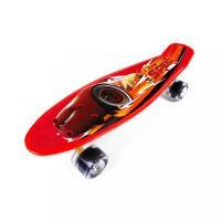 Skateboard fishboard Cars , Barva - Červená