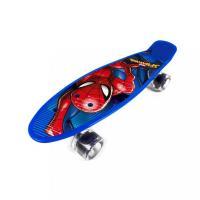 Skateboard fishboard Spiderman , Barva - Modrá