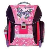 Školský batoh BUTTERFLY , Barva - Fialovo-růžová