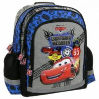 Školský batoh DISNEY CARS , Barva - Šedo-modrá