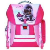 Školský batoh KITTY , Barva - Ružovo-biela