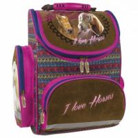 Školský batoh KONE INDIAN HORSE , Barva - Hnedá