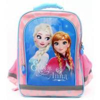 Školský batoh Ľadové Kráľovstvo , Barva - Růžovo-modrá