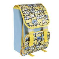 Školský batoh Mimoni Family , Barva - Modro-žltá