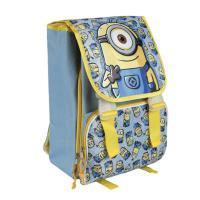 Školský batoh Mimoni Stuart , Barva - Modro-žltá