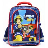 Školský batoh hasič Sam , Barva - Modro-červená