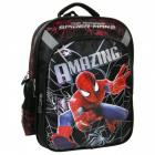 Školský batoh SPIDERMAN , Barva - Černo-červená