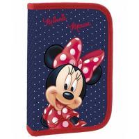Penál Minnie Mouse , Barva - Modro-červená