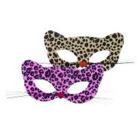 Škraboška karnevalová mačka , Barva - Hnedá